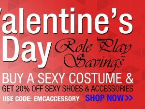 Valentine's Day - Role Play on Sale