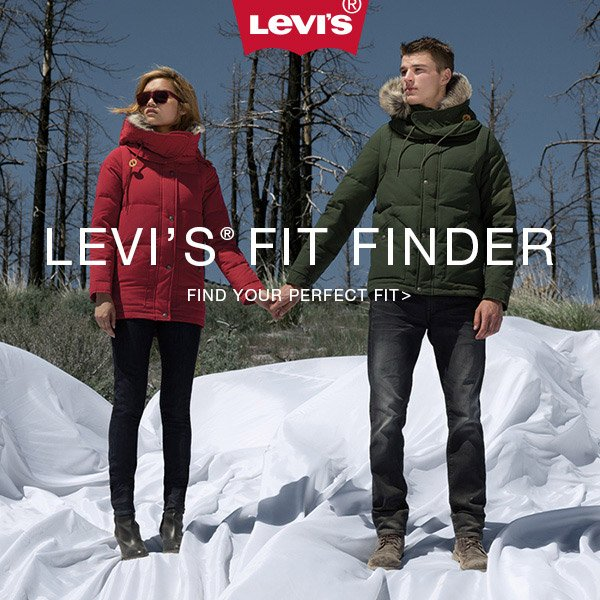 Find your perfect fit with the Levi's fit finder. Shop now.
