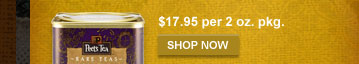 $17.95 per 2 oz. pkg. -- SHOP NOW