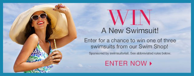 Enter to WIN a Swimsuit!