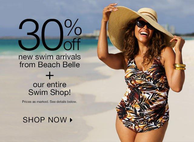 30% off our entire Swim Shop!