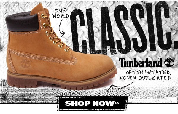 Timberland. One word: Classic.