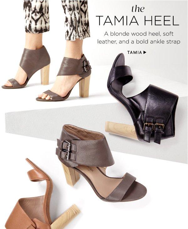 The Tamia Heel. Shop Tamia