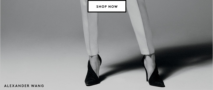 Alexander Wang and much more on sale. Need we say more?