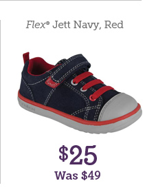 Flex Jett Navy, Red $25 Was $49