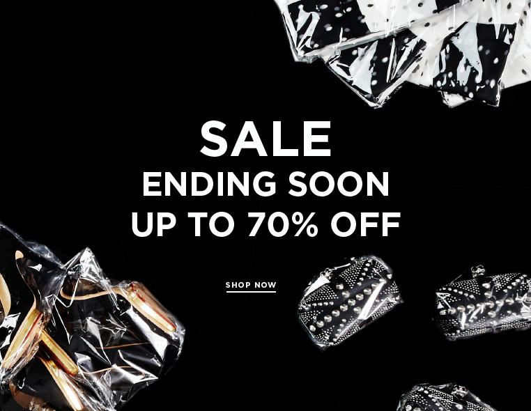 Sale: Last chance for discounts Ending soon: even more markdowns at up to 70% off