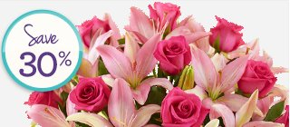 Deal of the Week Magnificent Pink Rose & Lily Bouquet just $34.99** Save 30%! Shop Now