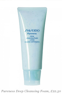 Pureness Deep Cleansing Foam, £22.50