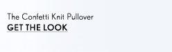 Confetti Knit Pullover
