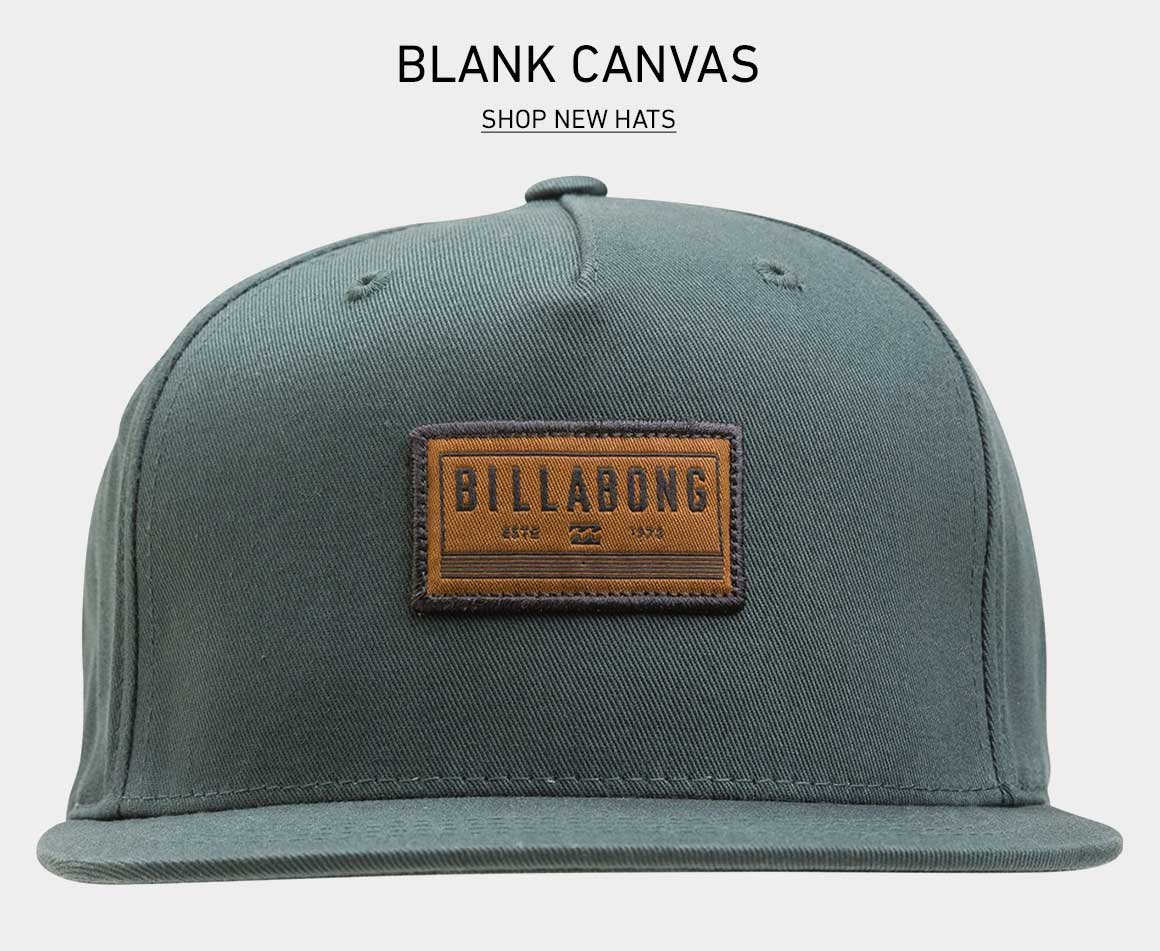 Your Blank Canvas: Shop New Hats
