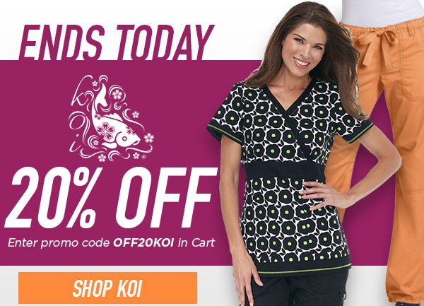 Up to 25% Off Select Koi Styles + Free Calendar - Shop Koi