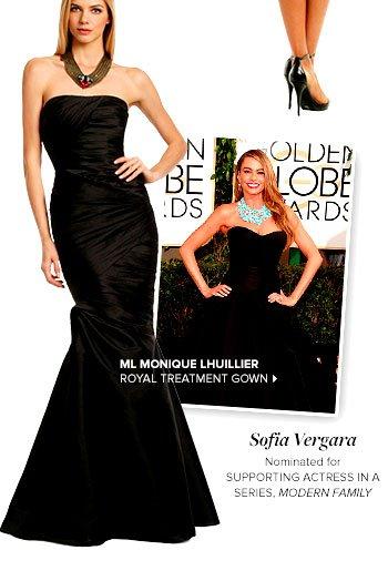 ML MONIQUE LHUILLIER - Royal Treatment Gown