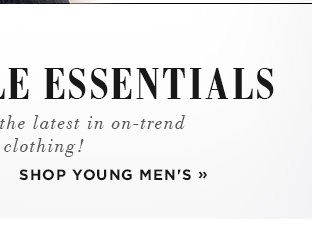 Shop Young Men's