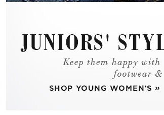 Shop Young Women's