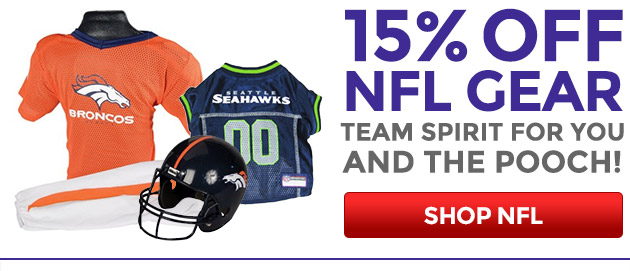 15% Off NFL Gear