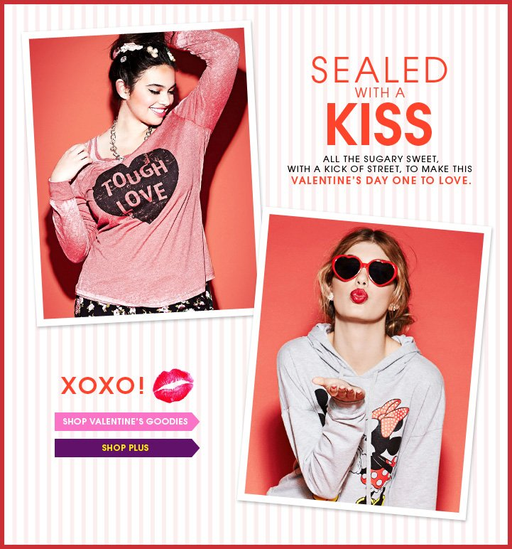 Sealed with a Kiss - XOXO!