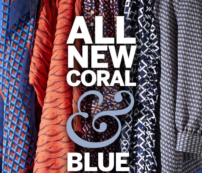 All New Coral & Blue