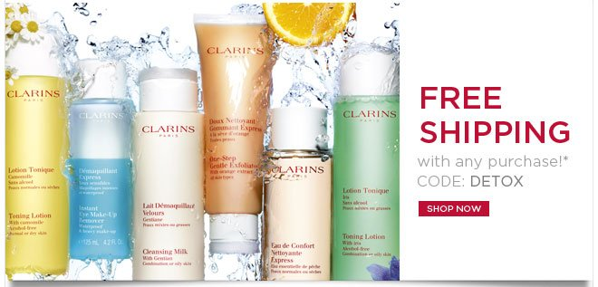FREE SHIPPING with any purchase!* CODE: DETOX