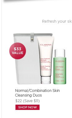 $33 Value Normal/Combination Skin Cleansing Duos Shop Now