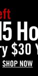 4 DAYS LEFT - GET $15 HOT CASH