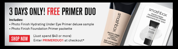 3 Days Only! Free Primer Duo