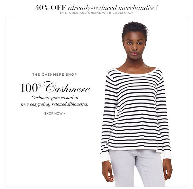 100% Cashmere: Luxe Looks To Love