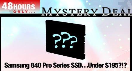 Samsung 840 Pro Series SSD Under 195 USD