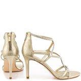 Gemma - Gold Suede