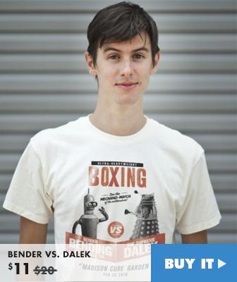 BENDER VS. DALEK