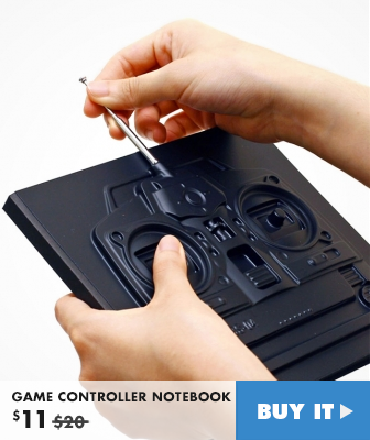 GAME CONTROLLER NOTEBOOK