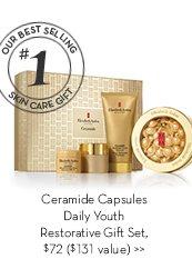 Ceramide Capsules Daily Youth Restorative Gift Set, $72 ($131 value).