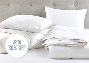 The White Sale: Down Bedding