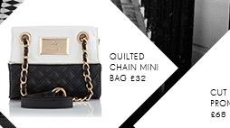Quilted Chain Mini Bag