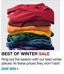 best of winter sale - shop now