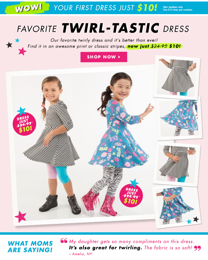 Twirl-Tastic Dresses Just $10!