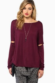 Split Sleeve Top 23