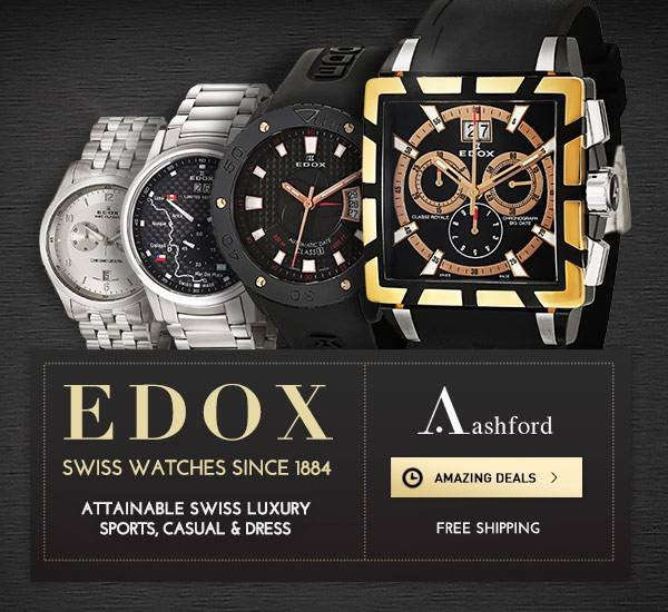 Edox Sale at Ashford.com!