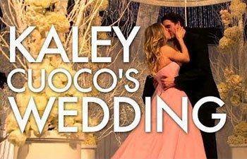 Kaley Cucoco Wedding Vera Wang