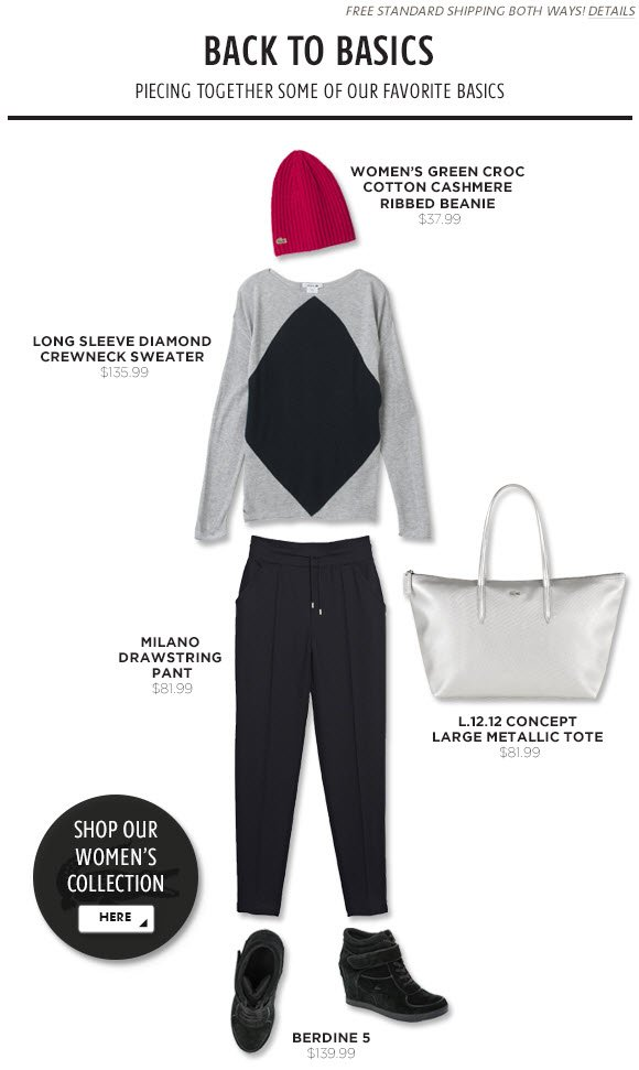 Back to Basics - Piecing together some of our favorite basics
