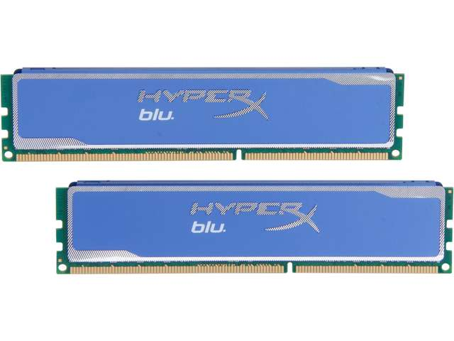 Kingston HyperX Blu 16GB (2 x 8GB) 240-Pin DDR3 SDRAM DDR3 1333 Desktop Memory