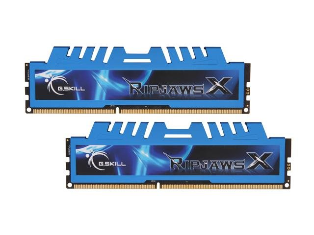 G.SKILL Ripjaws X Series 16GB (2 x 8GB) 240-Pin DDR3 SDRAM DDR3 1600 (PC3 12800) Desktop Memory
