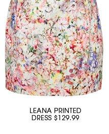 Leana Printed Dress.