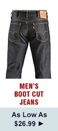 Mens Boot Cut Jeans on Sale