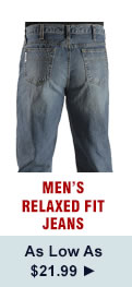Mens Relaxed Fit Jeans on Sale
