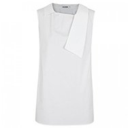 JIL SANDER - Rock stretch cotton blend top