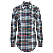 CRIPPEN - Jake cotton blend plaid shirt