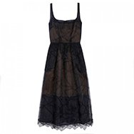 CHRISTOPHER KANE - Broderie anglaise organza dress