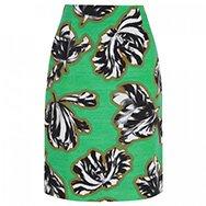 JONATHAN SAUNDERS - Sylvia tulip print cotton blend skirt