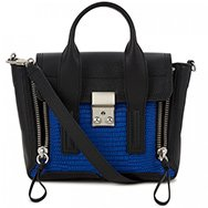 3.1 PHILLIP LIM - Pashli mini reptile effect leather tote