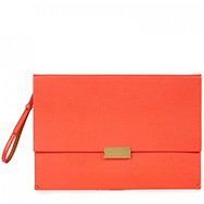 STELLA MCCARTNEY - Faux leather clutch